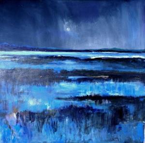 Fjordlys #2 af Frank Storgaard